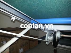 Băng tải PVC khung nhôm