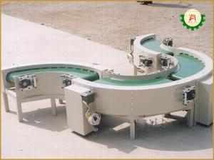 Băng tải PVC chuyển hướng